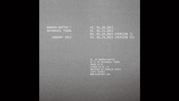 "Listen: Nathaniel Young/Warren Mattox ""01_19_2015 (Version I)"""